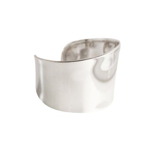 apop nyc Sterling Silver Wide Cuff Bracelet apop nyc. $200.00. cuff: 1.60 inches wide. 34.0 grams total weight. made of .925 sterling silver. fits up to 8.0 inch wrist (approx). malleable for size & comfort
