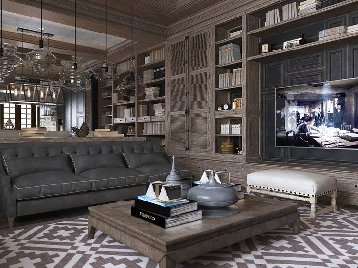 463 best images about unique bookshelf designs on for Modern neoclassical interior design