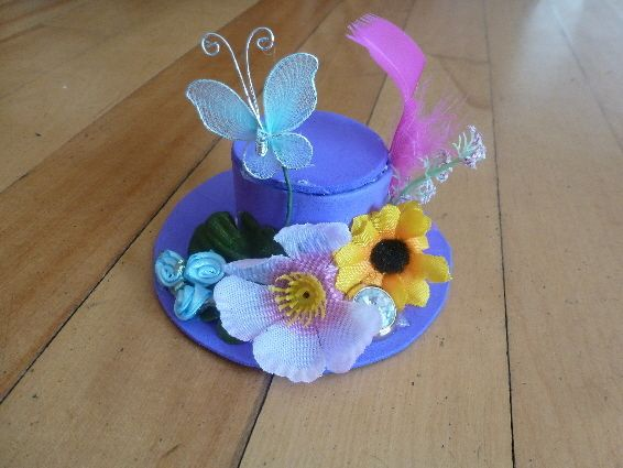crazy hat craft ideas diy mini hat or fascinator creative crafts and diy 4169