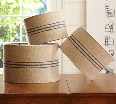 The Olde Farmhouse on Windmill Hill: DIY Lamp Shades - Pottery Barn Knockoffs