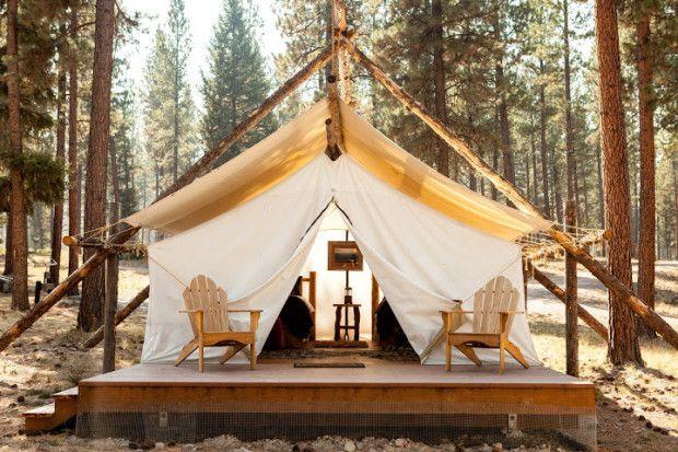 31 Stunning Glamping Pics - 50 Campfires