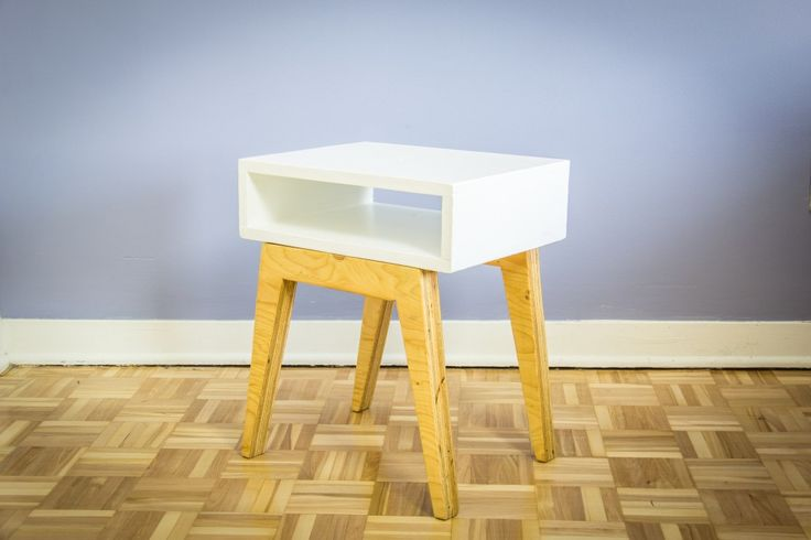 Fabriquer une table de nuit scandinave meubles - Fabriquer sa table de nuit ...