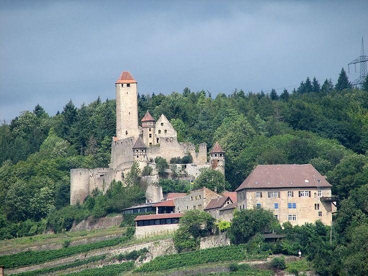 Burg Hornberg am Neckar - Burg Hornberg (Neckarzimmern) – Wikipedia