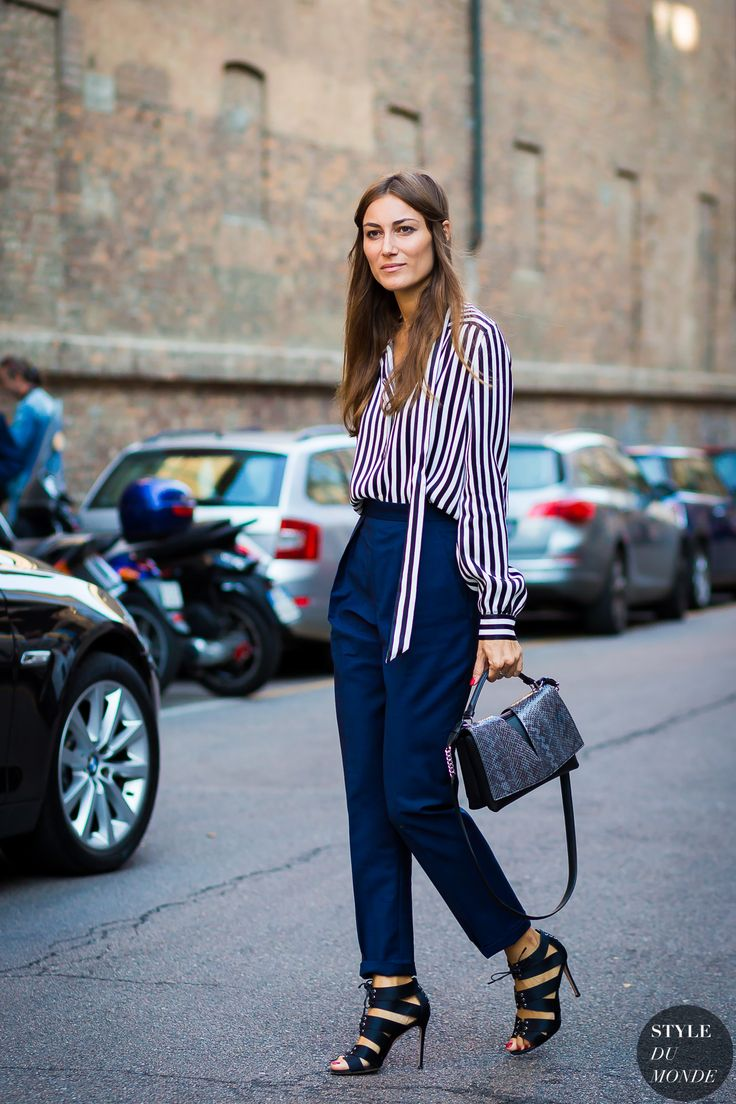 Giorgia Tordini Street Style Street Fashion Streetsnaps by STYLEDUMONDE Street Style Fashion Photography