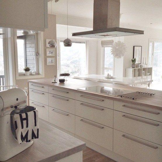 Decoracion Escandinava Salones ~ M?s de 1000 ideas sobre Cocinas De Madera Blanca en Pinterest