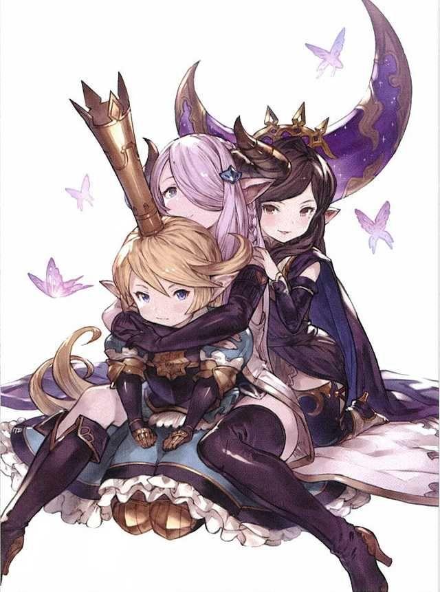 Granblue In 2020 Anime Yandere Fantasy Armor