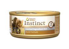 Nature's Variety Instinct Grain Free Limited Ingredient Duck Canned Cat Food 5.5oz