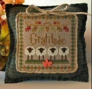 LHN Sheep Virtues - Gratitude  https://stitchandfrog.com/cross-stitch/gratitude