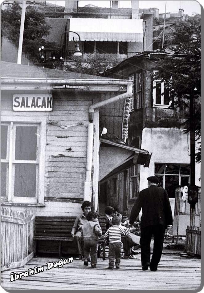 Uskudar / Salacak iskelesi 1970'ler