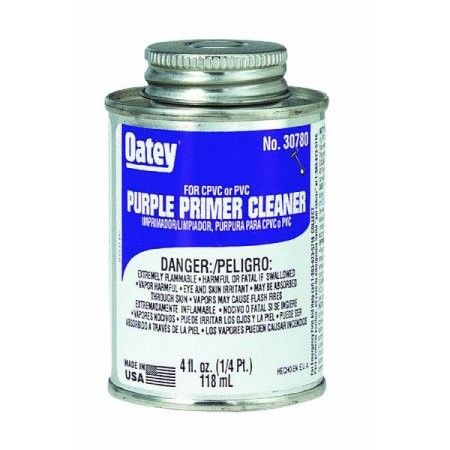 Purple Primer And Cleaner For PVC And Cpvc Pipe And Fittings