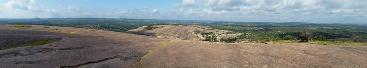 From The Dome At Enchanted Rock State Park, Tx
