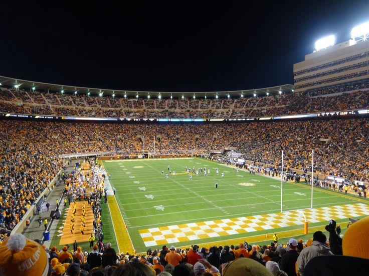 Neyland Stadium, Knoxville, Tennessee- Tennessee vs. Vanderbilt. My first football game!