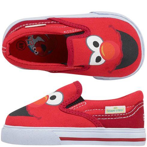 Girls Sesame StreetKids' Infant Elmo Slip-On