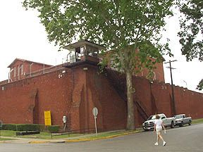 Huntsville, TX : Huntsville State Prison (1848) My Freshman dorm was two blocks away