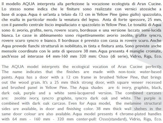 AQUA - Contemporary design