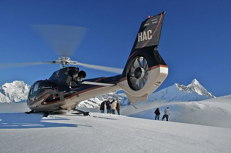 Wanaka Helicopters... Fly over Lake Wanaka and into the heart of the Southern Alps to see great glaciers, blue ice, water and ice falls, sheer rock faces, alpine tarns, and native forests.