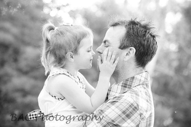 Father and daughter - I love you Daddy