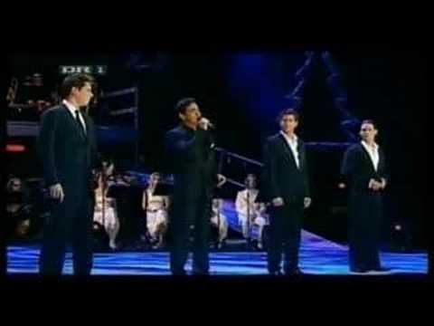 """Il Divo - """"Somewhere"""" from West Side Story. Beautiful rendition of a beautiful ballad."""