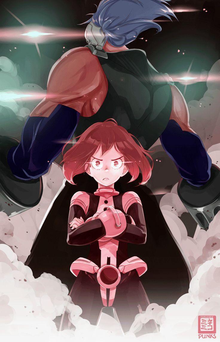 Ochaco Uraraka My Hero Academia Fanart Manga Anime