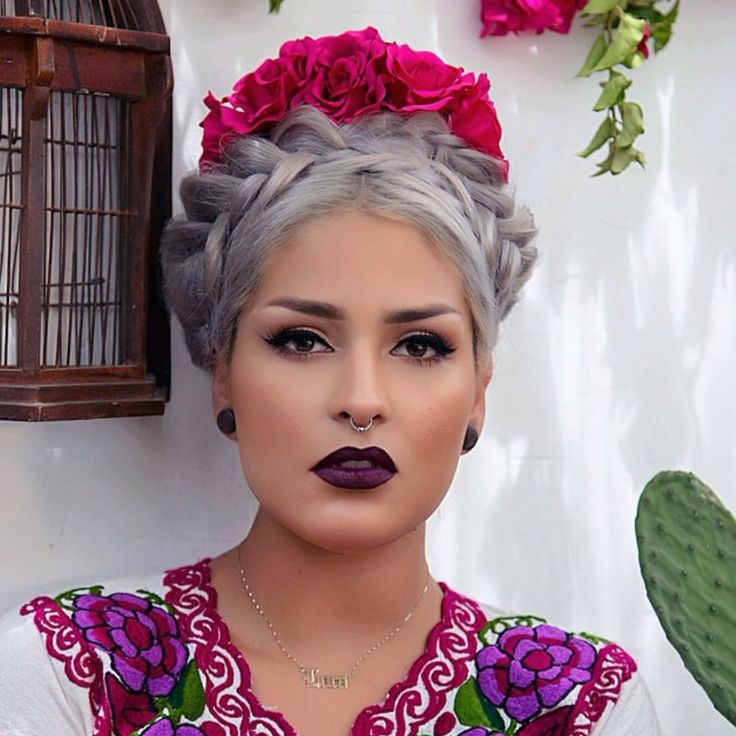traditional mexican hairstyles