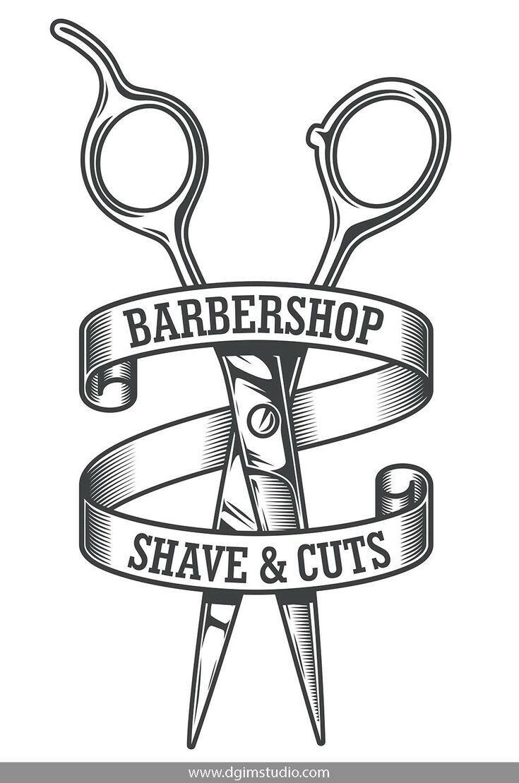 Pin De Hamidreza En Barber Diseno De Barberia Maquinas De Barberia Logos De Peluqueria