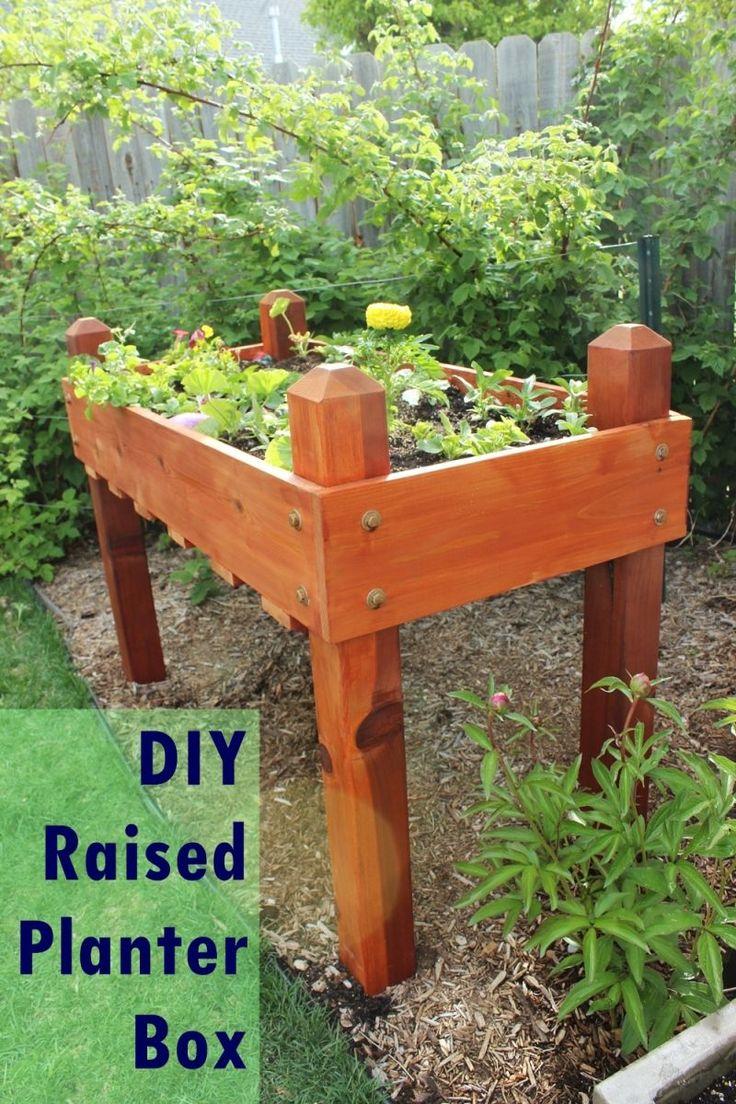 Building A Raised Flagstone Patio: Best 20+ Raised Planter Ideas On Pinterest