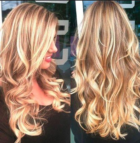 Golden Dirty Blonde Hair With Highlights Hair Pinterest Hair