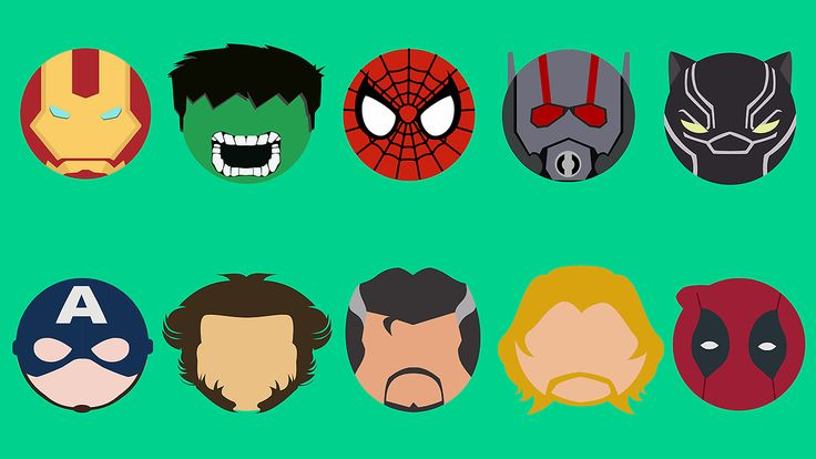 Marvel Superheroes Created by Hoang Vo Huy