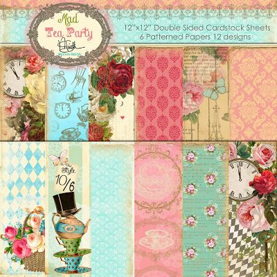 Marion Smith Designs Marion Smith Designs Mad Tea Party line