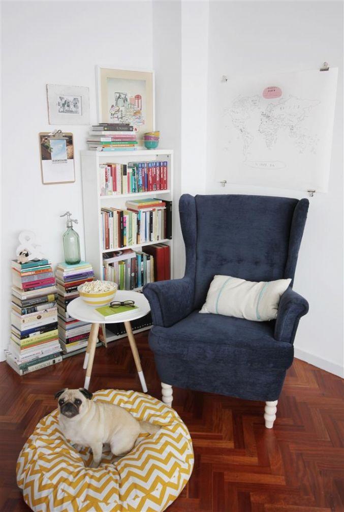 Rincon lectura - El sofa amarillo