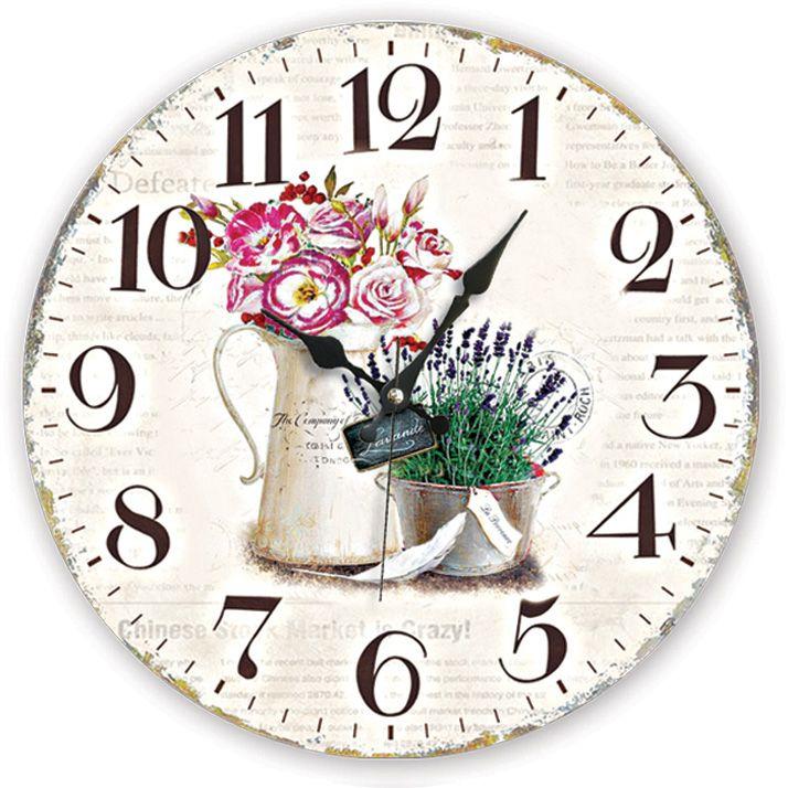Vazo Antik Ahşap Duvar Saati  Ürün Bilgisi;  MDF gövde Sessiz akar saniye Çap 35 cm. Çok şık ve dekoratif ahşap duvar saati Ürün resimde olduğu gibidir