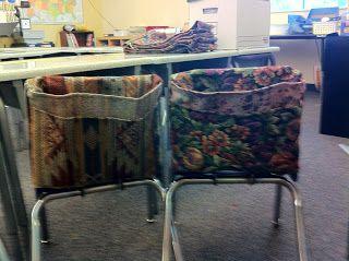 Elementary School Chair Pockets