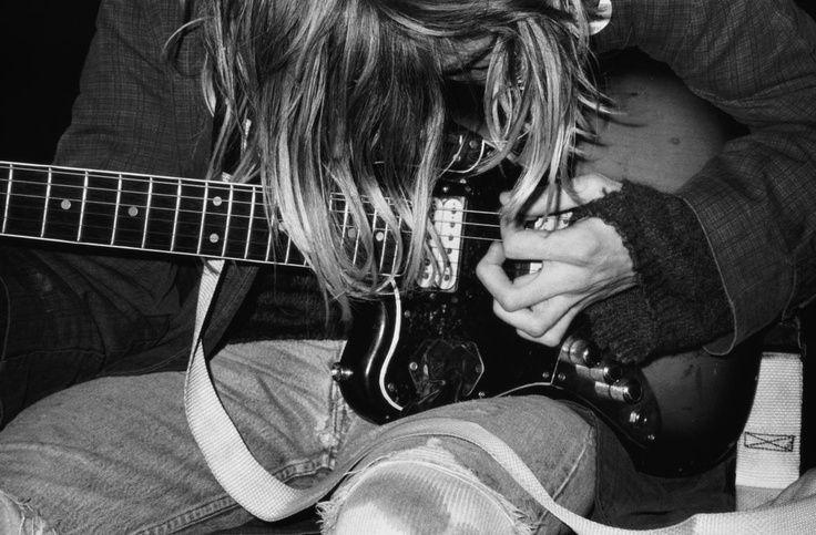 Kurt Cobain by Jurgen Teller