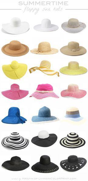 Summertime Floppy Sun Hats