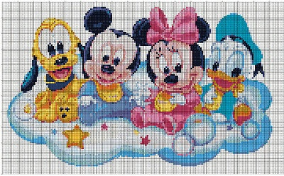 Disney Babies cross stitch