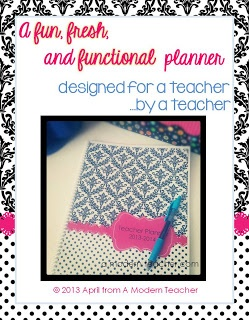 A Modern Teachers TEKS-based Planners