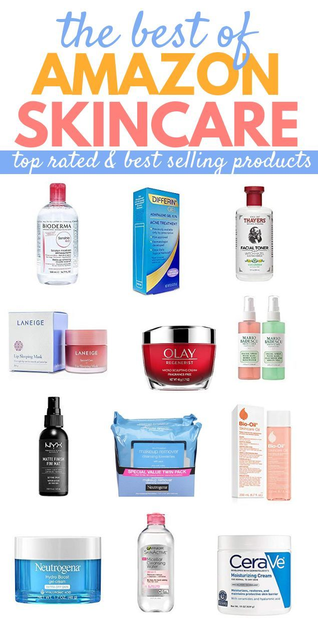 Best Amazon Skin Care Amazing Beauty Products On Amazon Amazon Skincare Best Skincare Products Top Skin Care Products