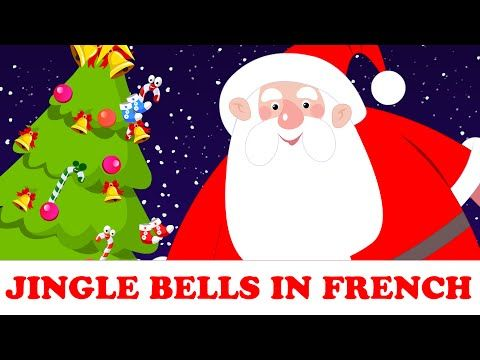 Jingle Bells in French (Vive le Vent) - Christmas song for kids with lyrics ! - YouTube