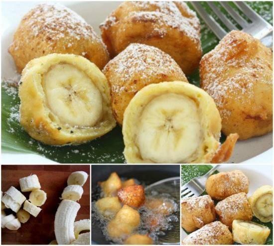 Ingrédients : – 6 bananes moyennes – 200 g de farine fluide – 3 cuillers à soupe de sucre en poudre – 4 grammes de levure de boulangerie déshydratée – 1 oeuf entier + 1 blanc d'oeuf – 1 cuiller à café de vanille liquide – 3 cuillers à soupe d'huile neutre – 15 cl