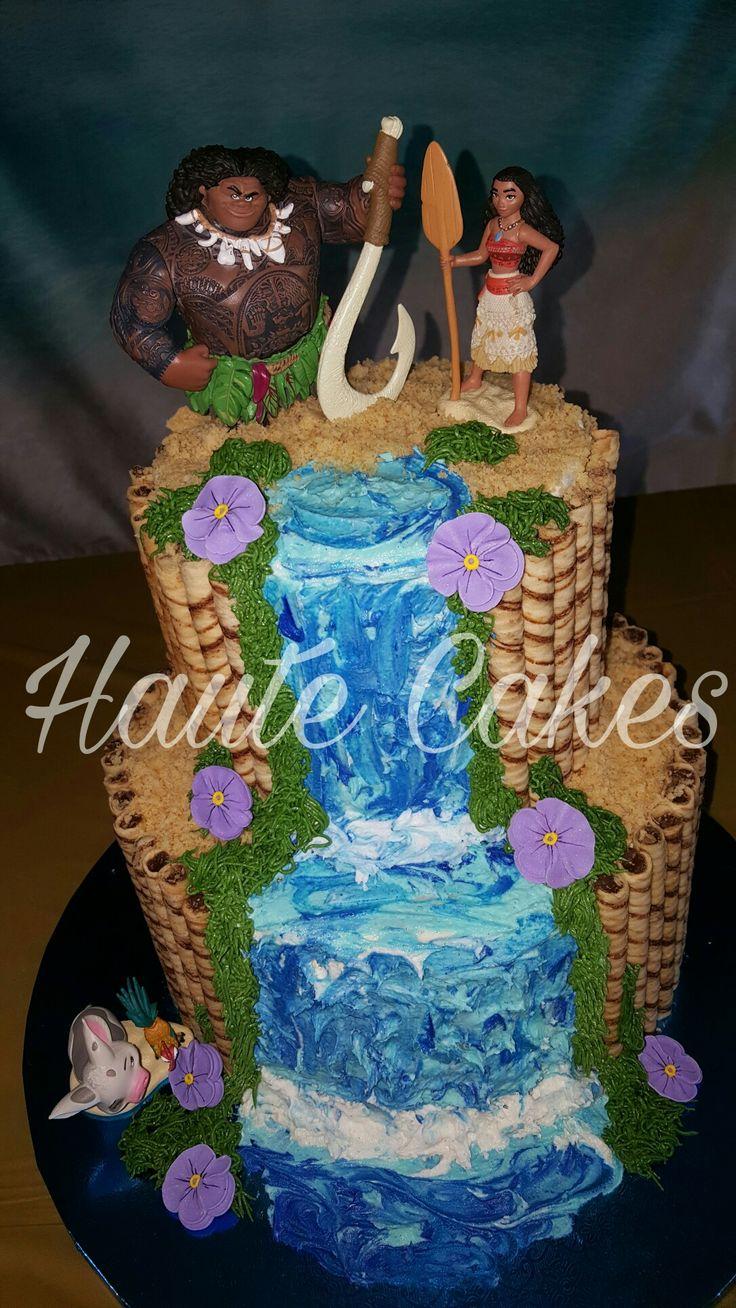 Cake Design Moana : Moana cake! Haute cakes Pinterest Cakes