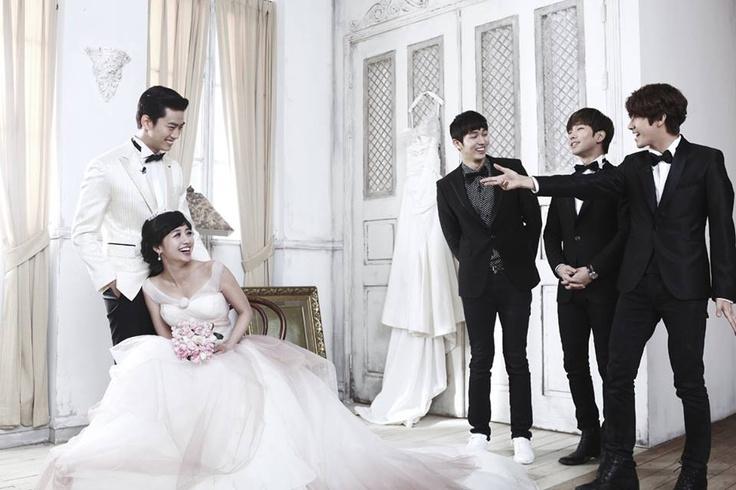 Taecyeon Gui Gui We Got Married Wedding Photoshoot