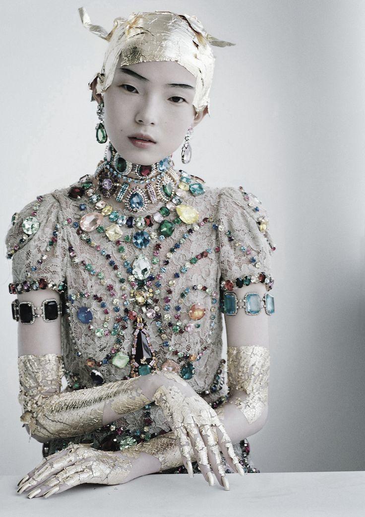 'Magical Thinking' Xiao Wen ju ph Tim Walker W Magazine March 2012