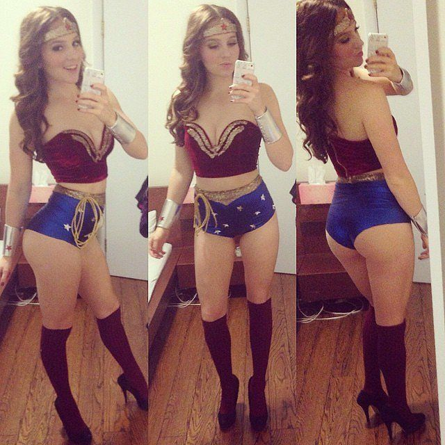 Fierce Wonder Woman costume