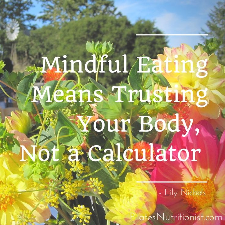 Mindful eating means trusting your body, not a calculator. Learn How To Know If You're Truly Hungry In This Article! – Pilates Nutritionist
