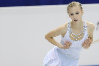 Polina Edmunds from San Jose CA going to Sochi Olympics.