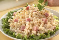 Hoy prepare una receta fácil y sabrosa Ensalada de Coditos con Jamón, contiene carbohidratos y proteínas.