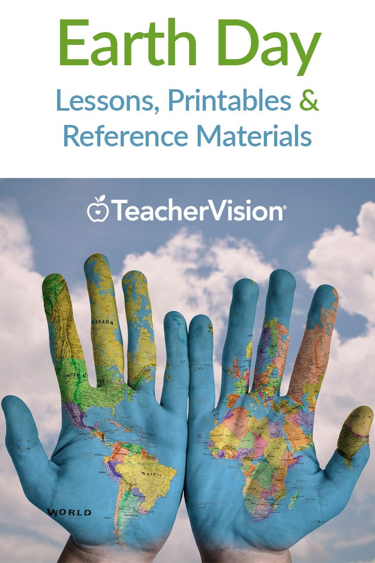 April 22 is Earth Day. TeacherVision's resources include materials about global warming, recycling, and pollution, as well as plenty of fun hands-on activities that will  keep students interested in learning about their world. Grades K-12
