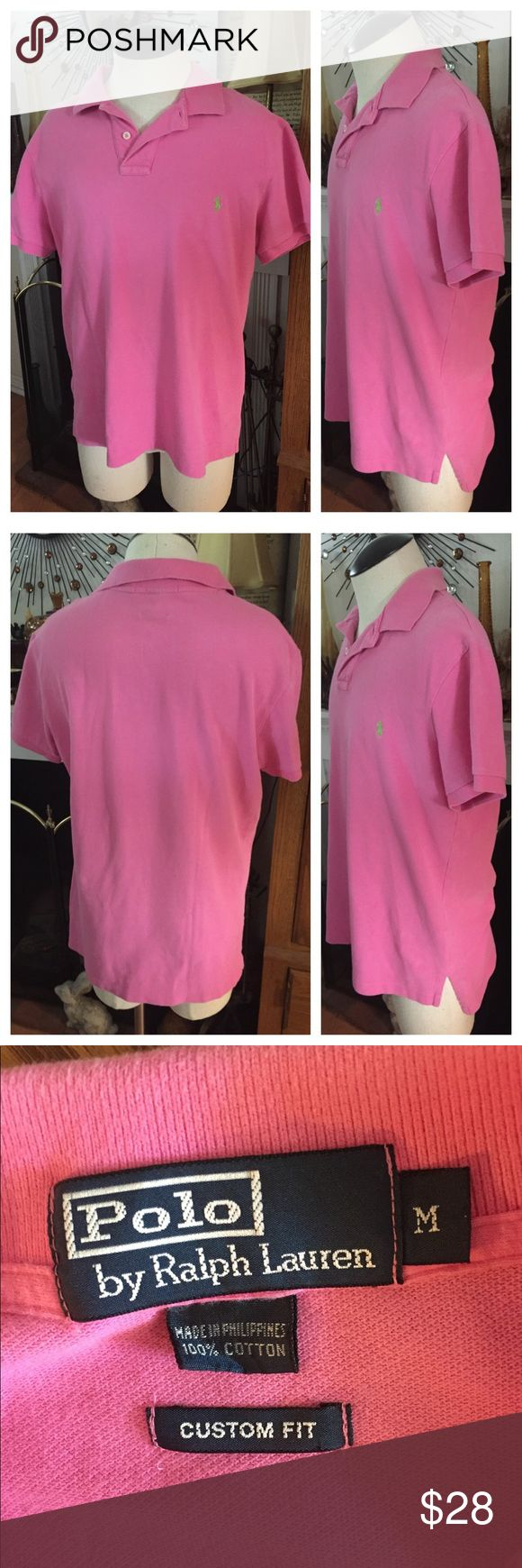 POLO By RALPH LAUREN Polo Shirt Bubblegum Pink POLO By RALPH LAUREN ~ Custom Fit Shirt ~ Size M. 100% Cotton. In excellent preowned condition. Smoke-free home. Bundle with other Polo shirts and save ❣️ Polo by Ralph Lauren Shirts Polos
