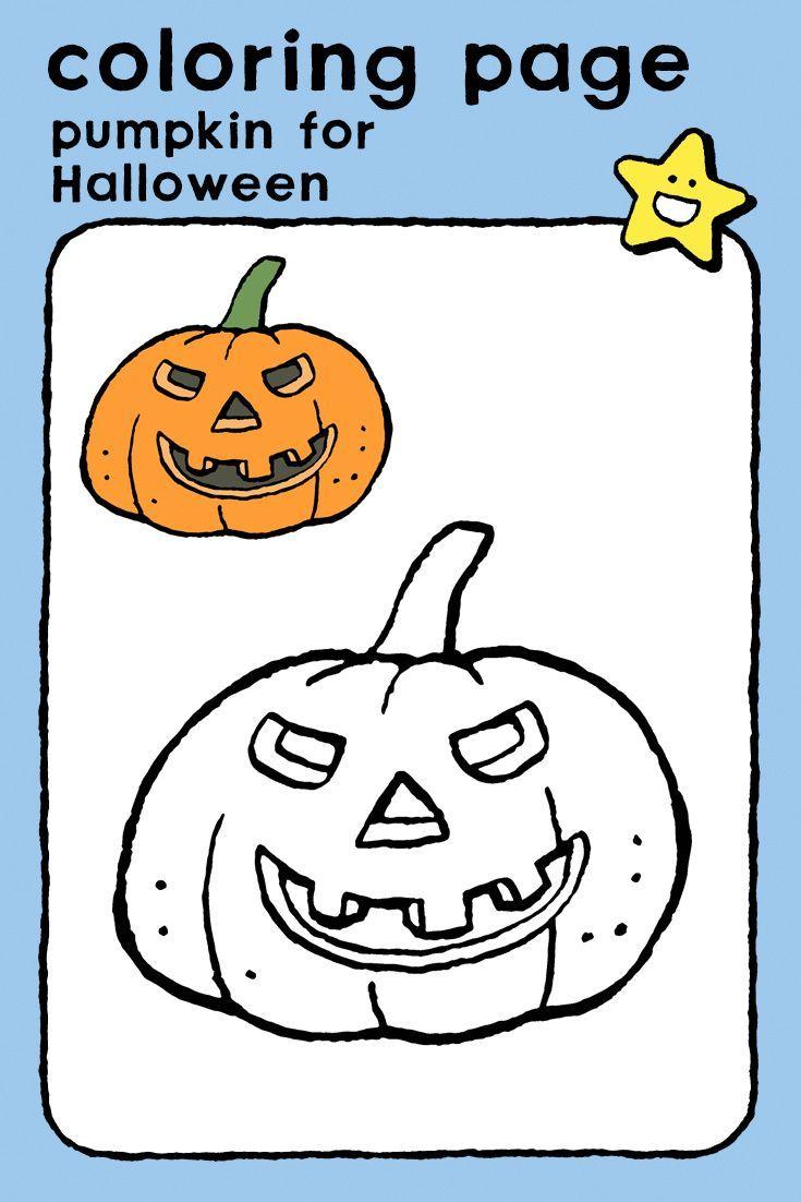 pumpkin for Halloween - kiddicolour in 7  Halloween pumpkins