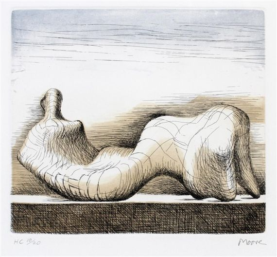Henry Moore - RECLINING FIGURE color etching & 25+ best Henry moore reclining figure ideas on Pinterest | Henry ... islam-shia.org